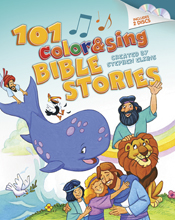 Book Cover 101 Color & Sing Bible Stories